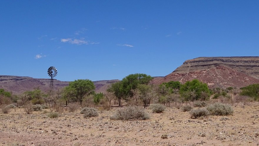 Namibia Große Randstufe Tsaris Berge