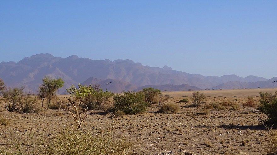 Namib Wüste Facetten Landschaft Berge