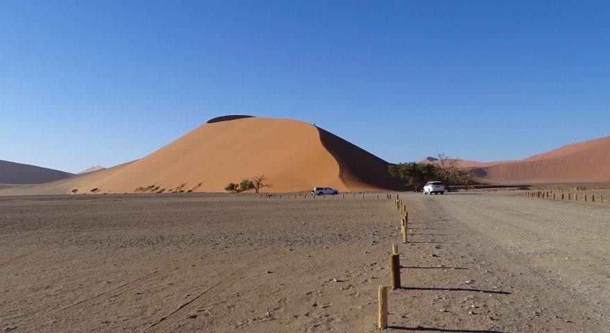 Namibia Namib Naukluft Nationalpark Wüste Düne 45