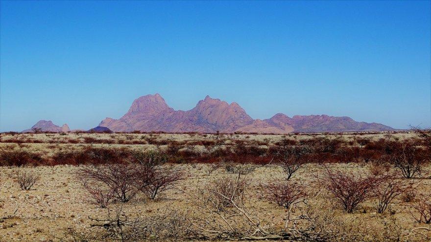 Namibia Landschaft Berge Spitzkoppe Damaraland