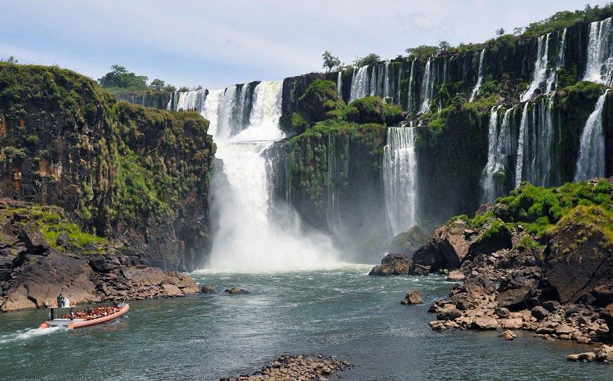 Argentinien Iguazu Wasserfälle
