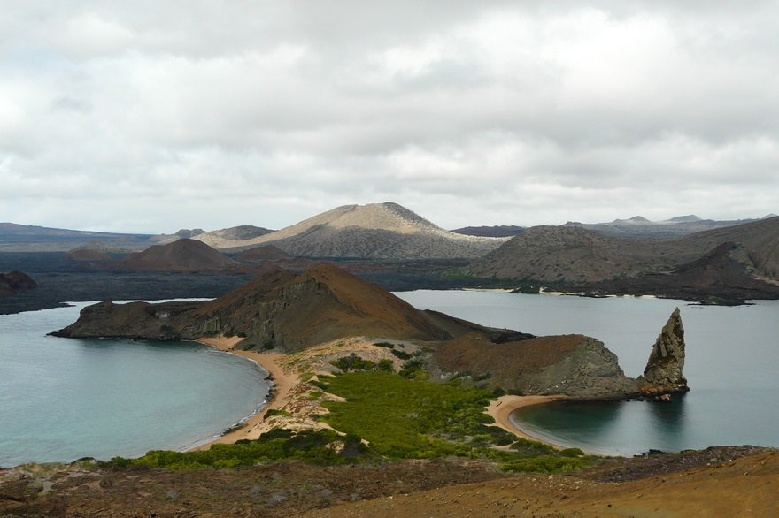 Ecuador Galapagos Insel Bartolome Pinnacle Rock