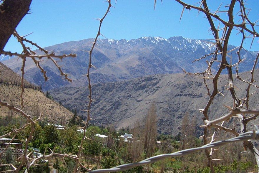 Valle del Elqui kleiner norden chile anden elqui tal