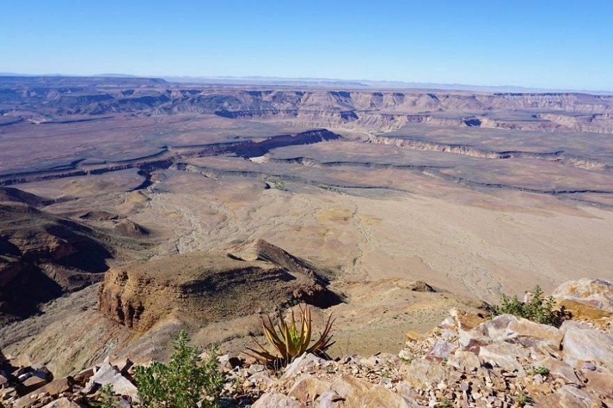 Namibia Ai Ais Nationalpark Fish River Canyon Panorama