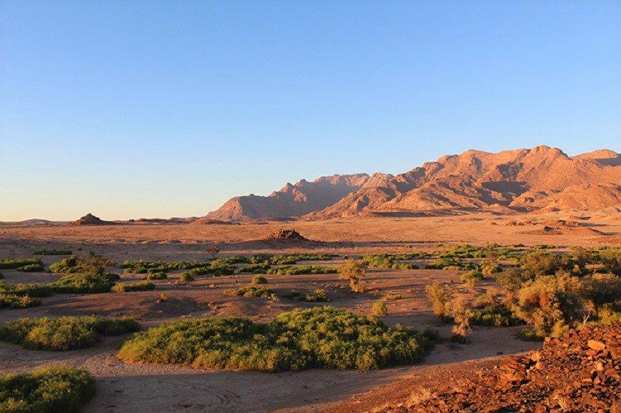 Namibia Brandberg Landschaft