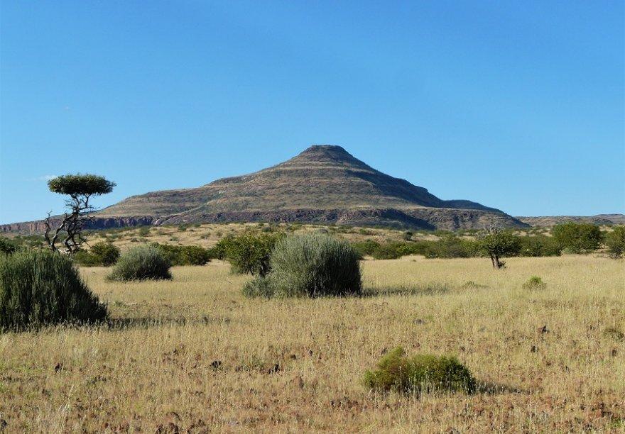 Namibia Damaraland Landschaft Nähe Palmwag