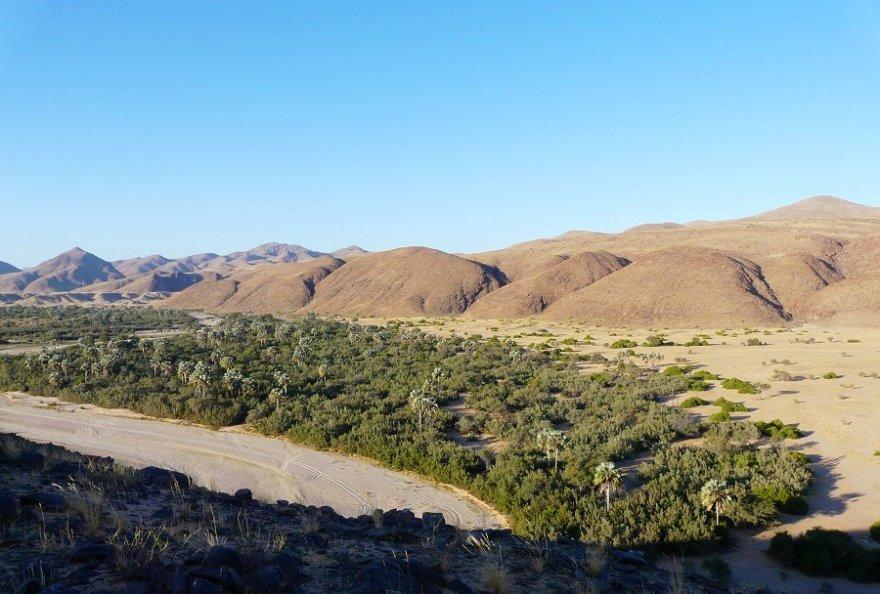 Namibia Kaokoveld Landschaft