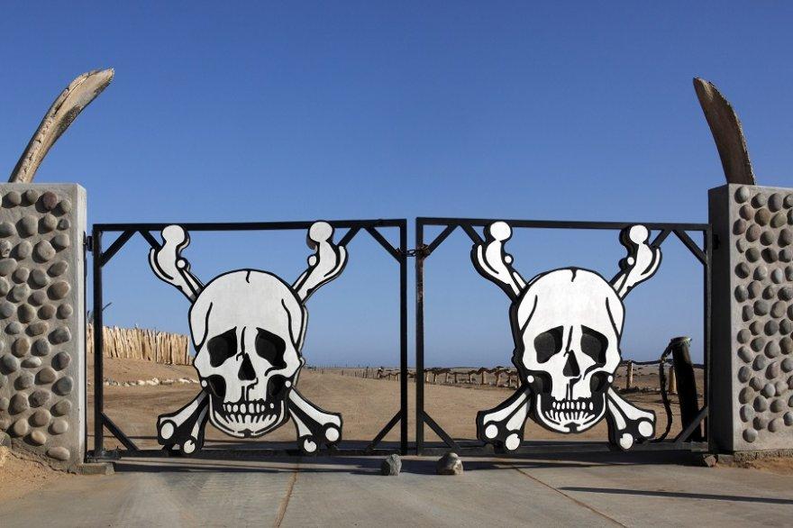 Namibia Skelettküste Nationalpark Gate