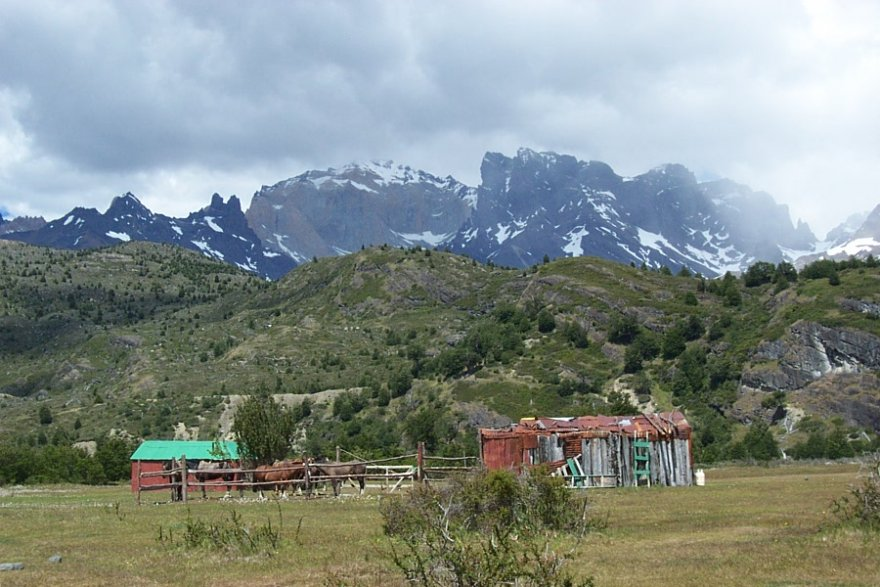 O-wanderung torres del paine nationalpark patagonien chile