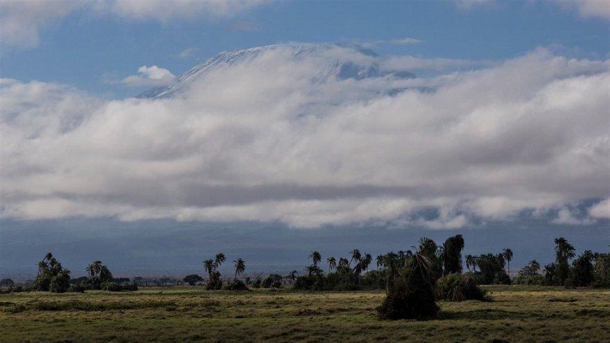 Kenya Kilimanjaro View from Amboseli National Park