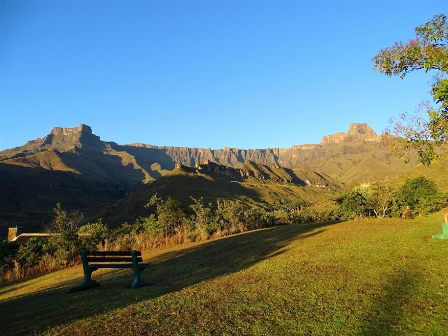 Südafrika Drakensberge Royal Natal Nationalpark Amphitheater
