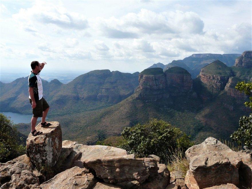 Südafrika Panorama Route Three Rondavels
