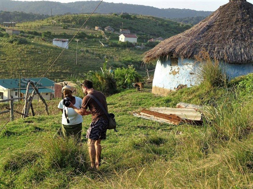 Südafrika Wild Coast Treffen mit den Locals