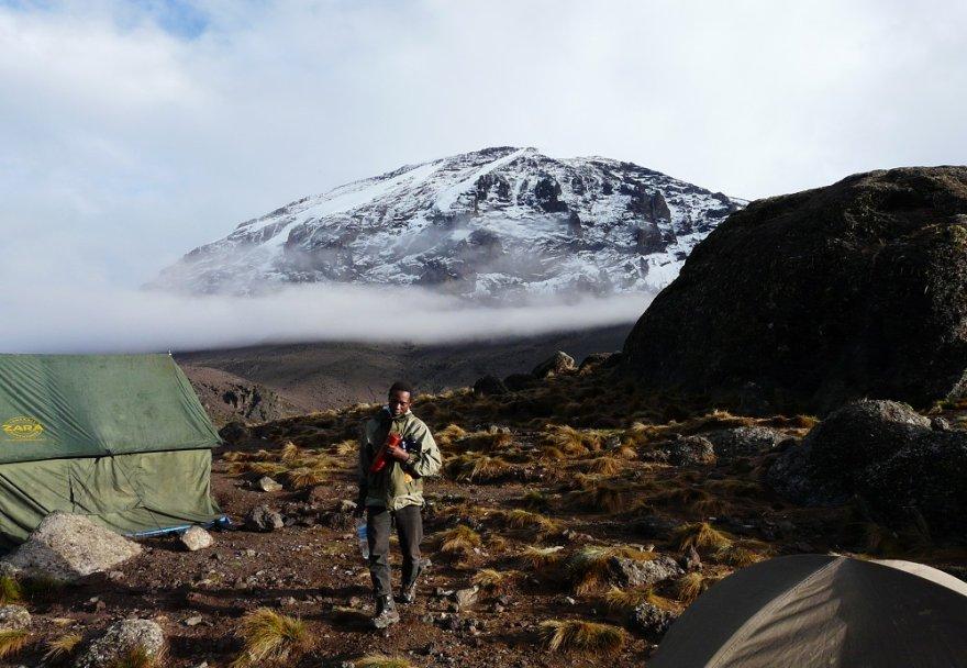 Tansania Kilimanjaro Besteigung Zeltcamp Machame Route