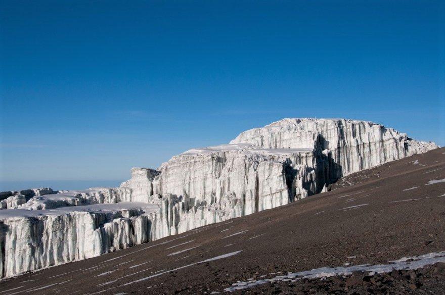 Tansania Kilimanjaro Rebmann Gletscher Glacier Kili