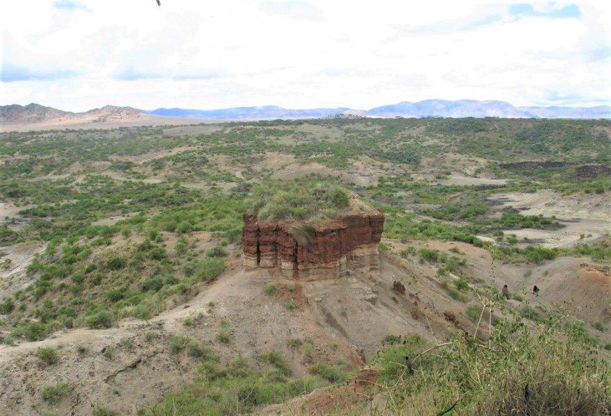 Tansania Ngorongor Olduvai Schlucht Oldupai Wiege der Menschheit Lucy