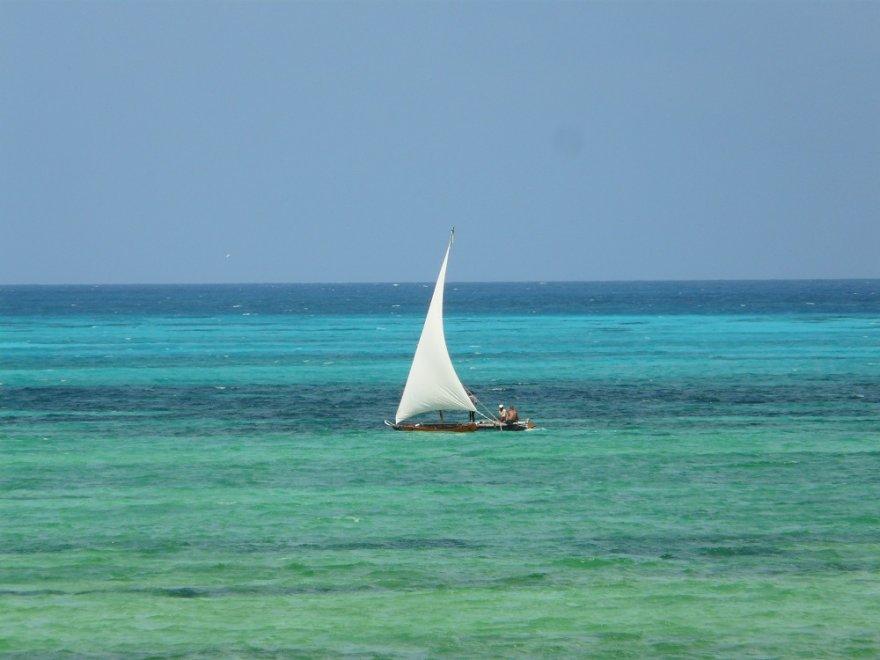 Tansania Zanzibar Dhow