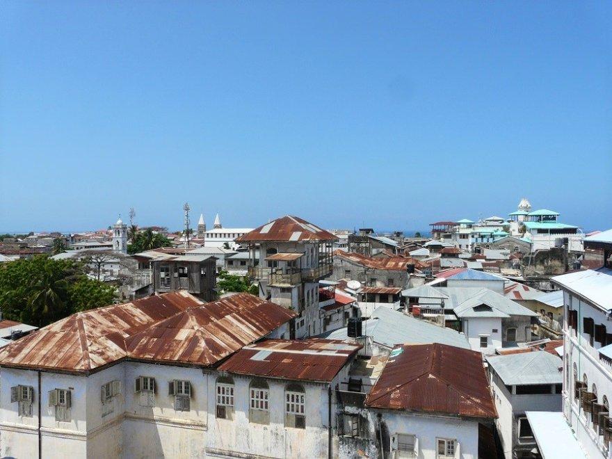Tansania Zanzibar Stonetown Dächer Stadt