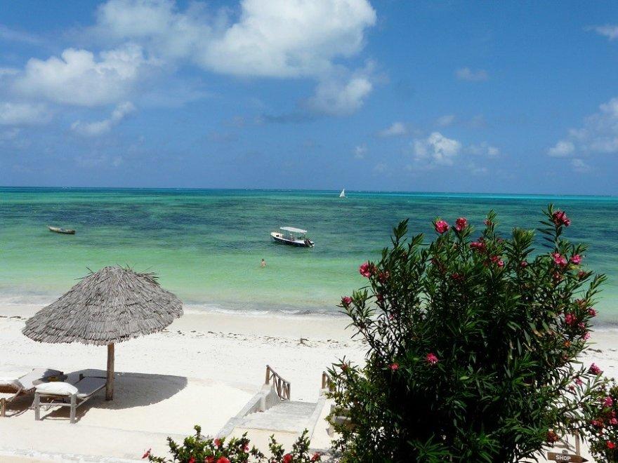 Tansania Zanzibar Beach Sea View