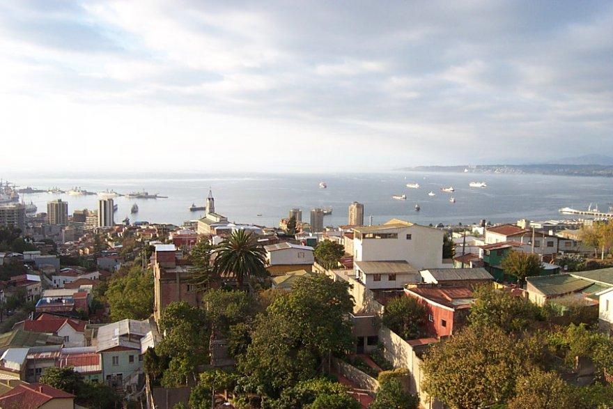 Valparaíso hafen stadt zentralregion chile