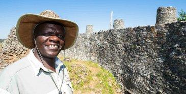 Einheimischer aus Simbabwe