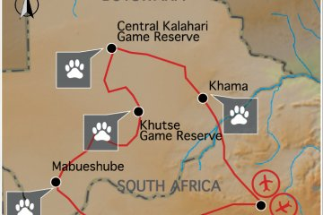 Expedition BOTSWANA/TRANS KALAHARI