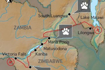Expedition SIMBABWE, SAMBIA & MALAWI